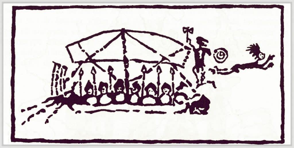 Dessin des premières civilisations de Pelasges