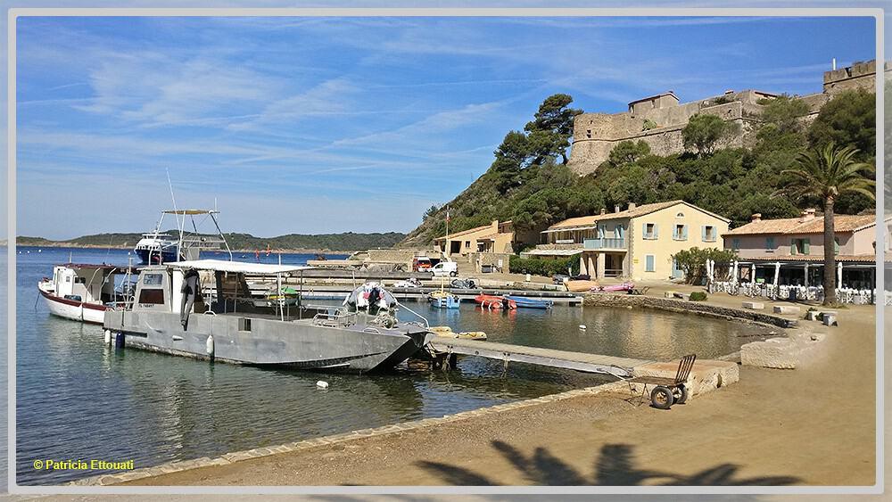 Photo de l'île de Port-Cros en France