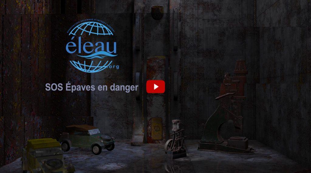 Photo de la cale du teaser du projet SOS épaves en danger